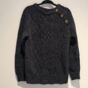 Old Navy Toddler Sweater Navy Blue